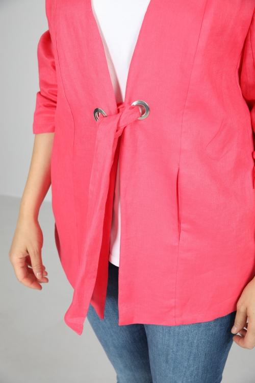 Linen jacket to tie