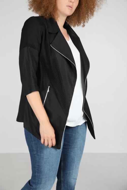Linen blazer jacket
