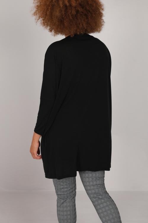 Long vest in mesh