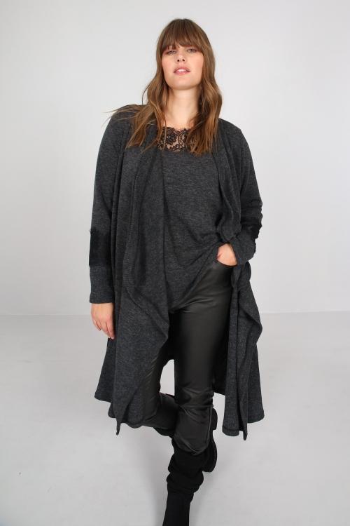 Long mesh vest