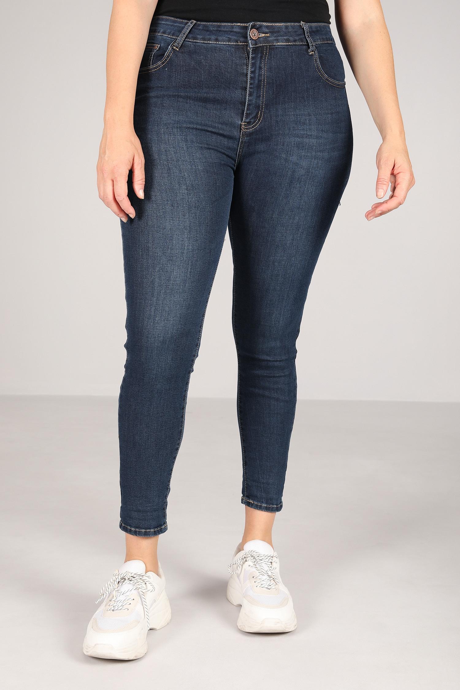 Raw slim jeans