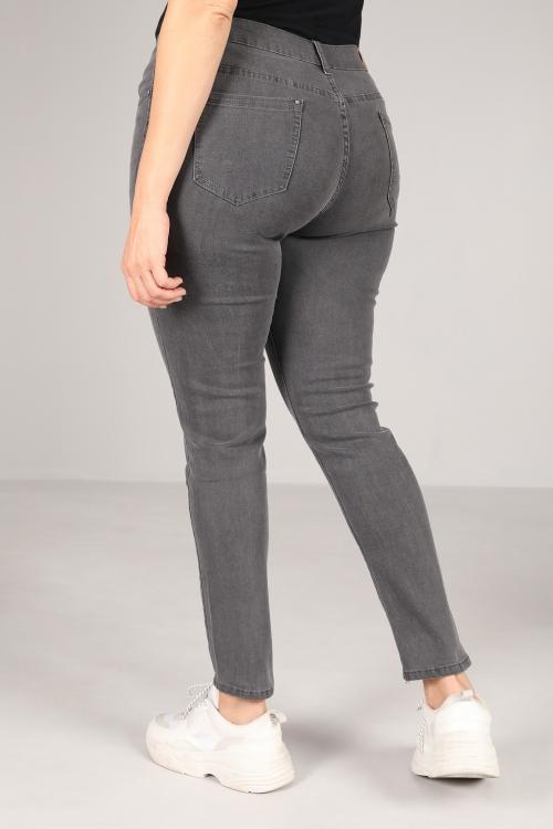 Gray slim jeans