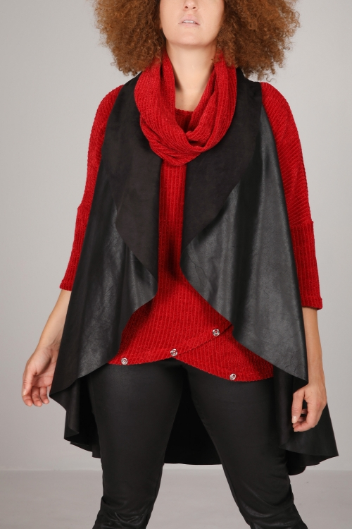 COATED VEST