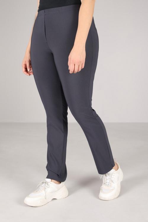 Straight bengaline pants