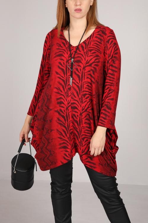 Animal inspired print tunic
