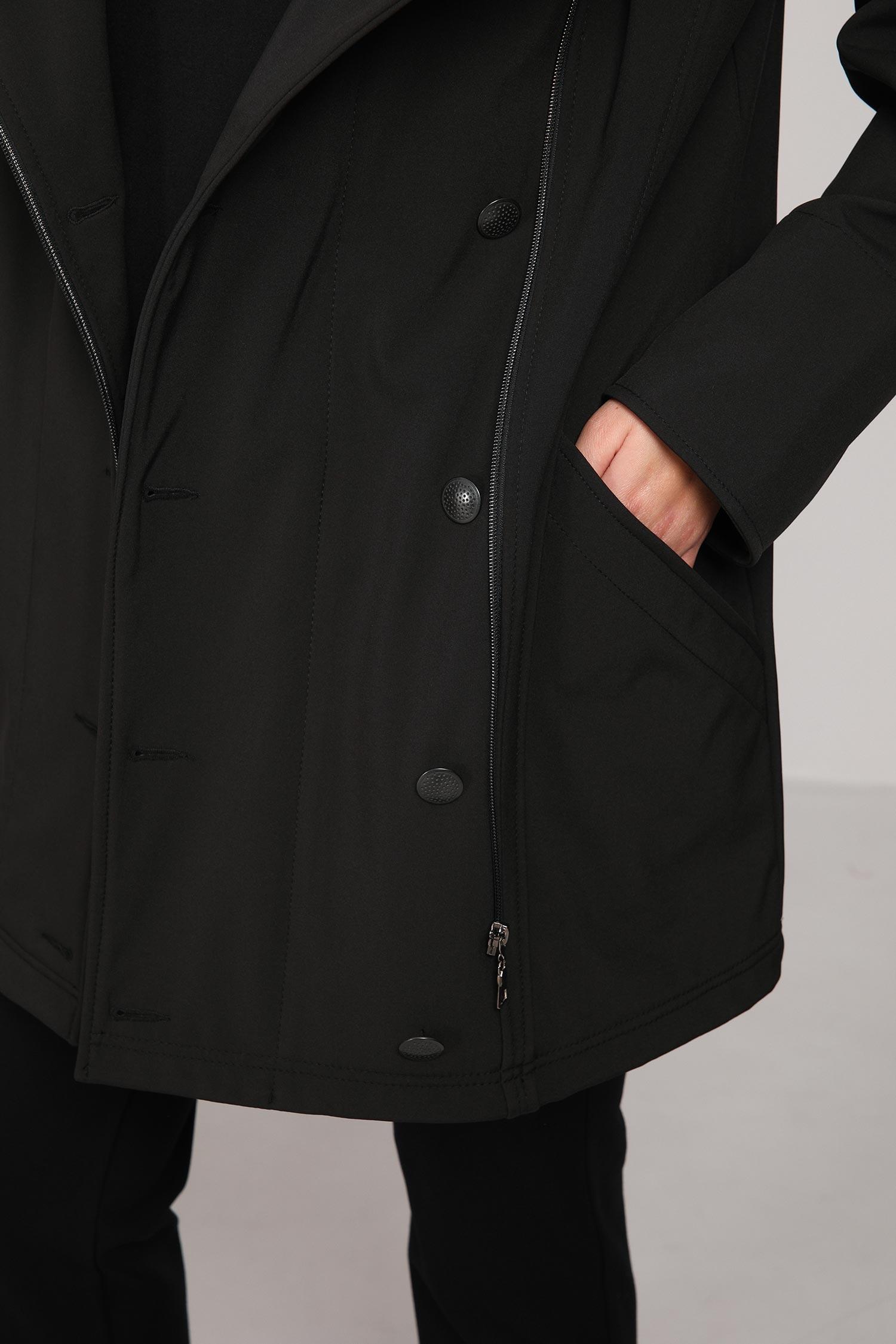 Mid-length officer coat