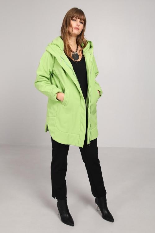 Hooded coat