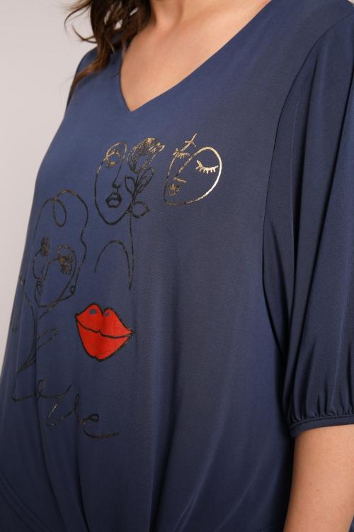 Screen-printed T-shirt
