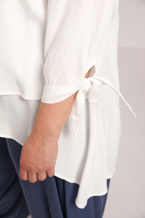 Plain overlay tunic
