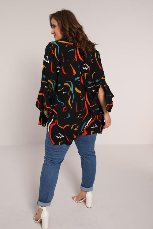 Fluid printed shirt