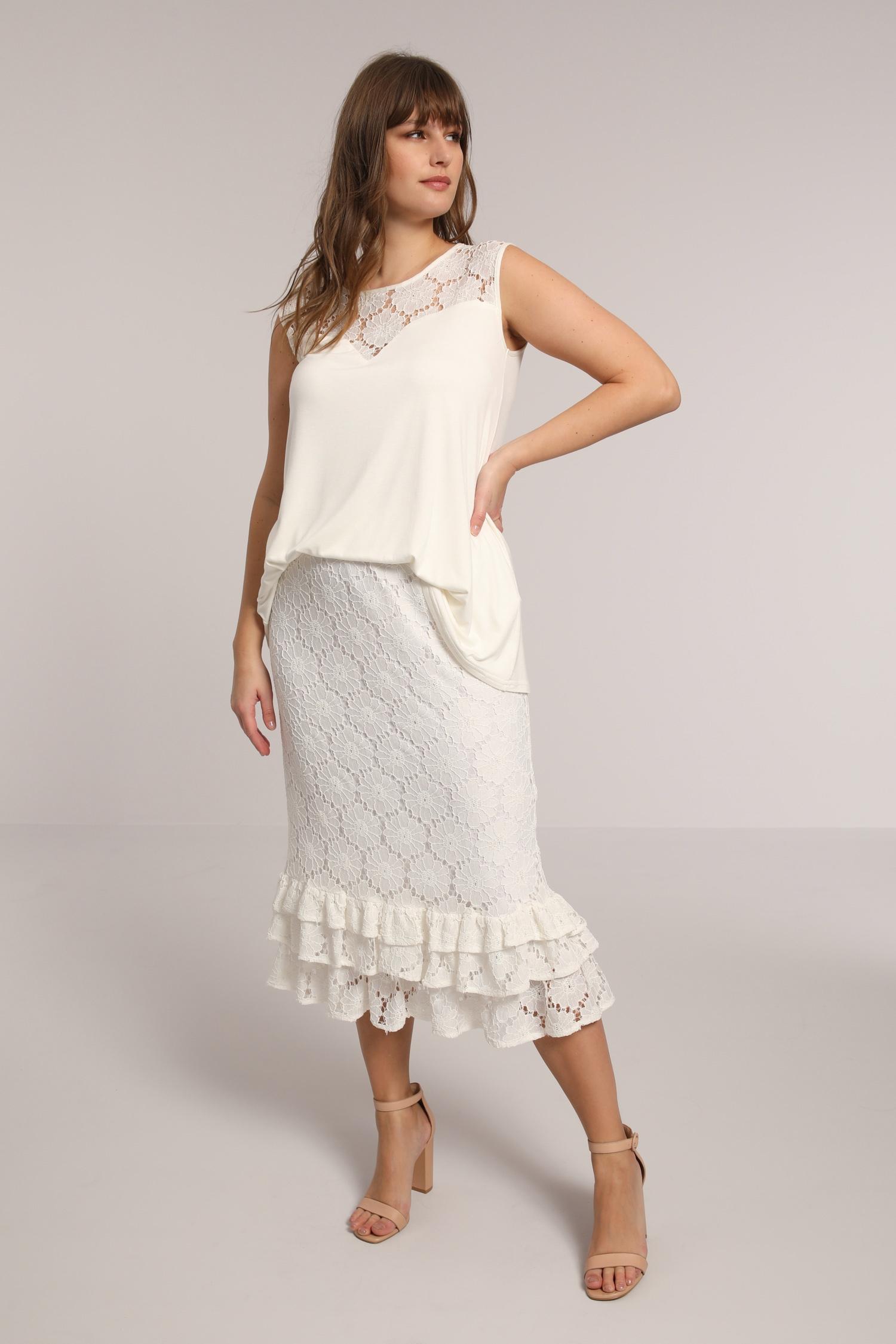 Lace petticoat
