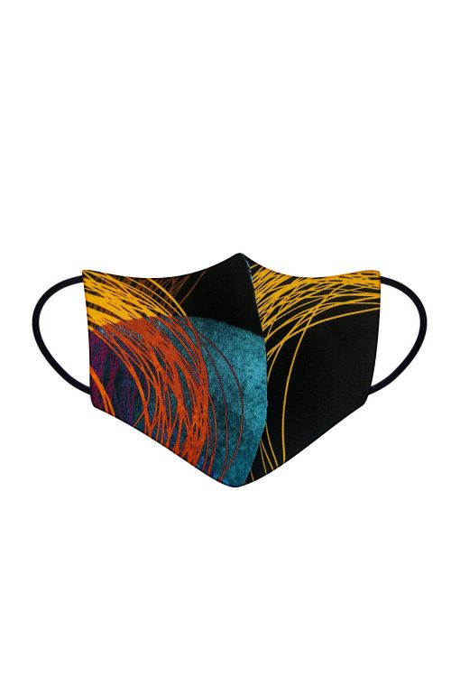 Set of 2 washable protective masks