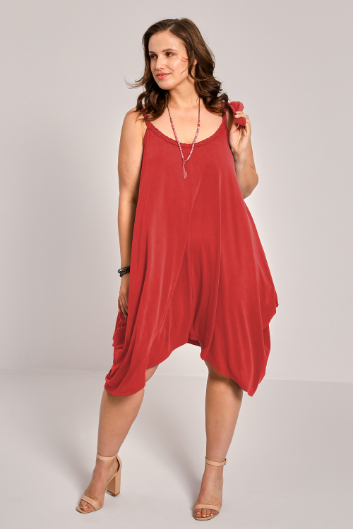 Tunic / Dress with braided straps