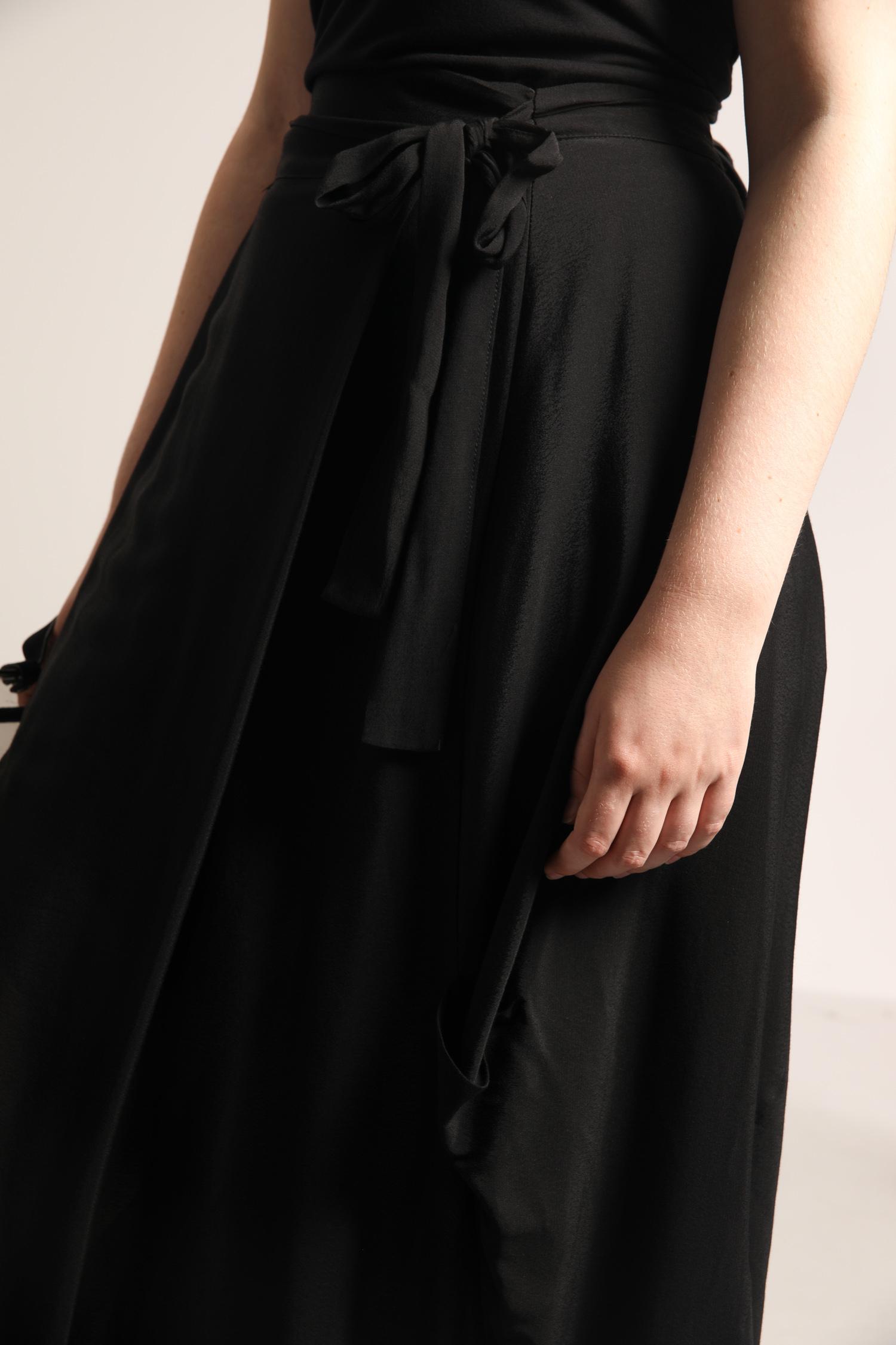 Wrap style skirt