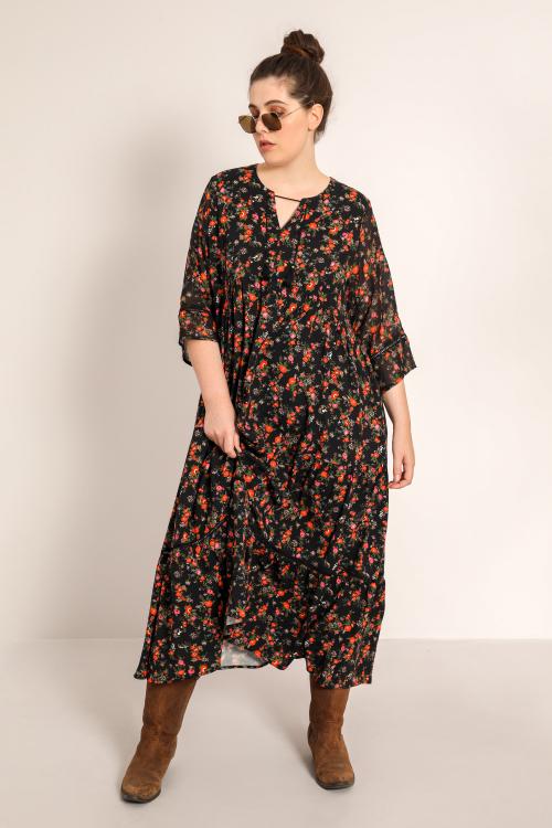 Long bohemian dress