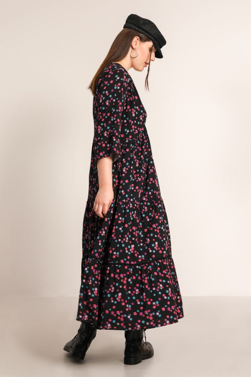 Bohemian printed dress