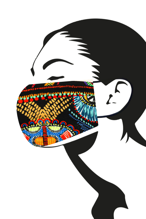 Washable protective mask