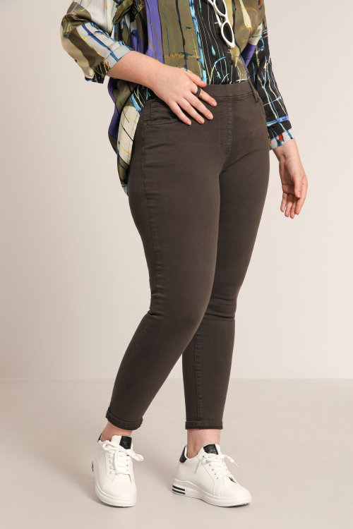High waist slim jegging jeans