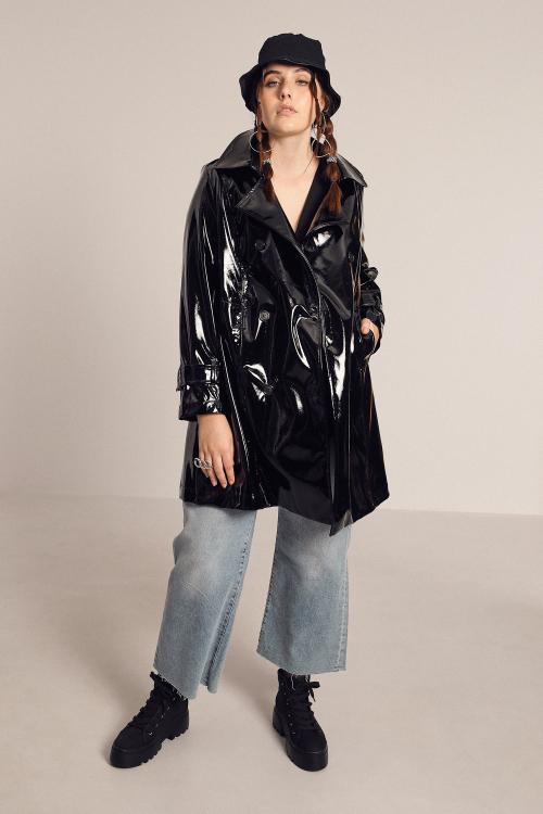 A-line vinyl jacket