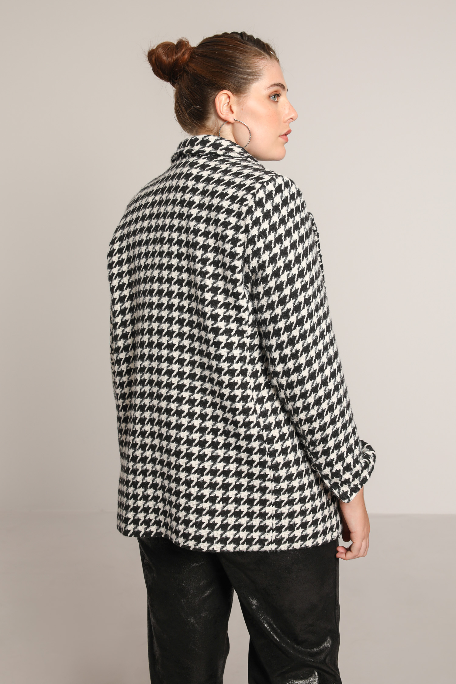 "Tailored jacket ""houndstooth"""