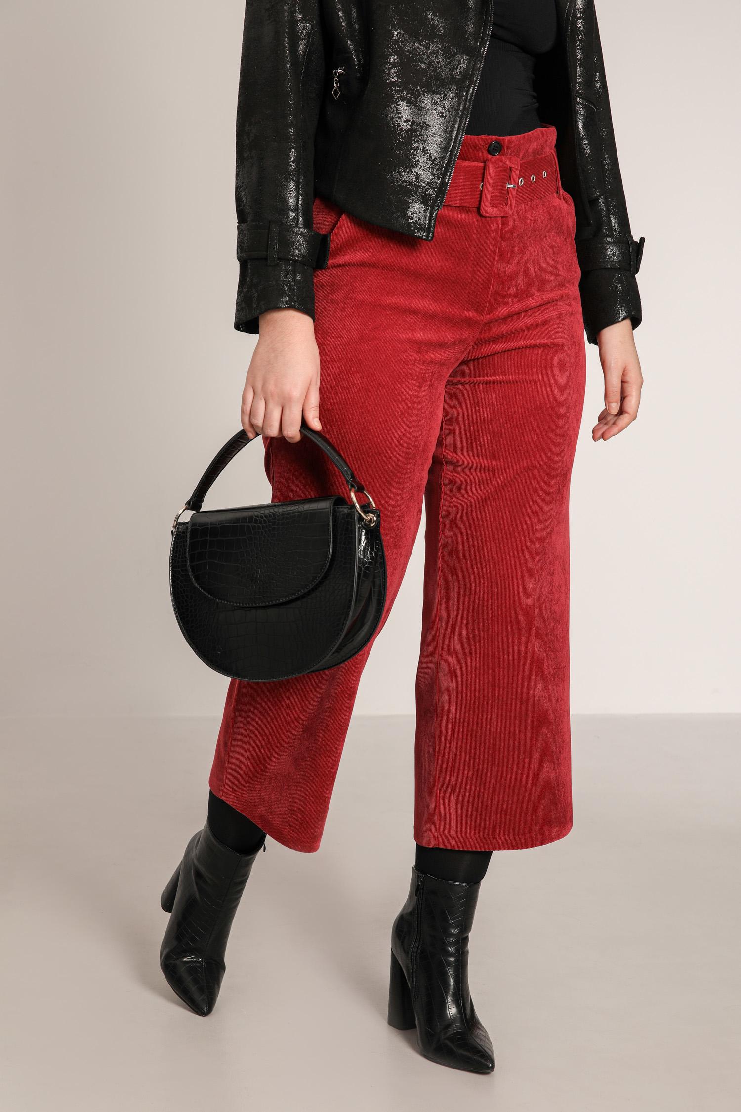 Corduroy 7/8 pants