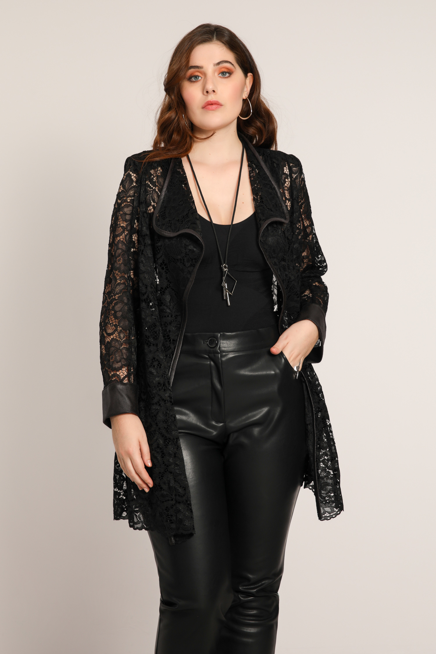 Lace jacket
