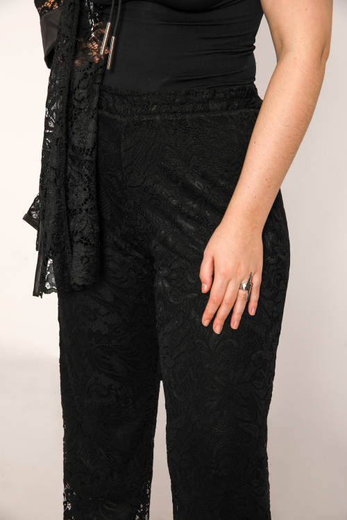 Lace pants