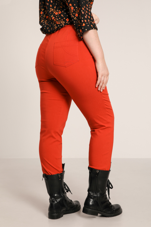 Plain bengaline pants