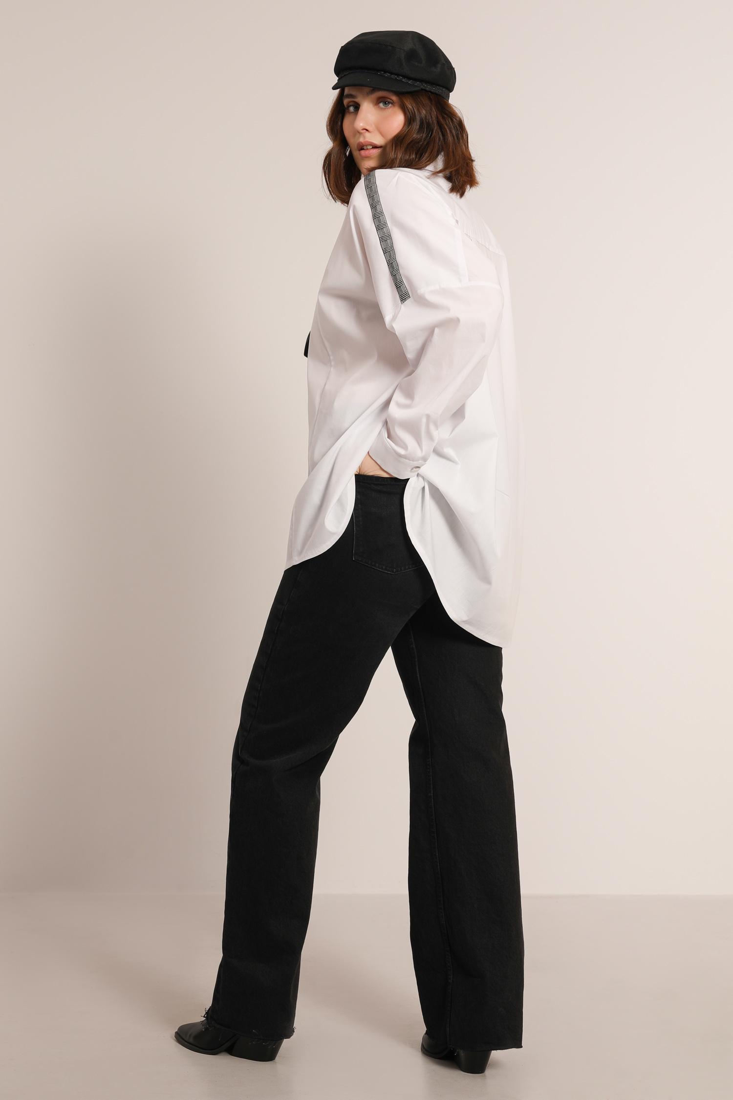 Lycra poplin shirt