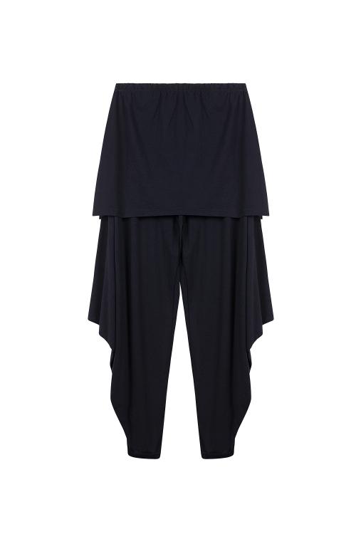 Pantalon panton-Noir