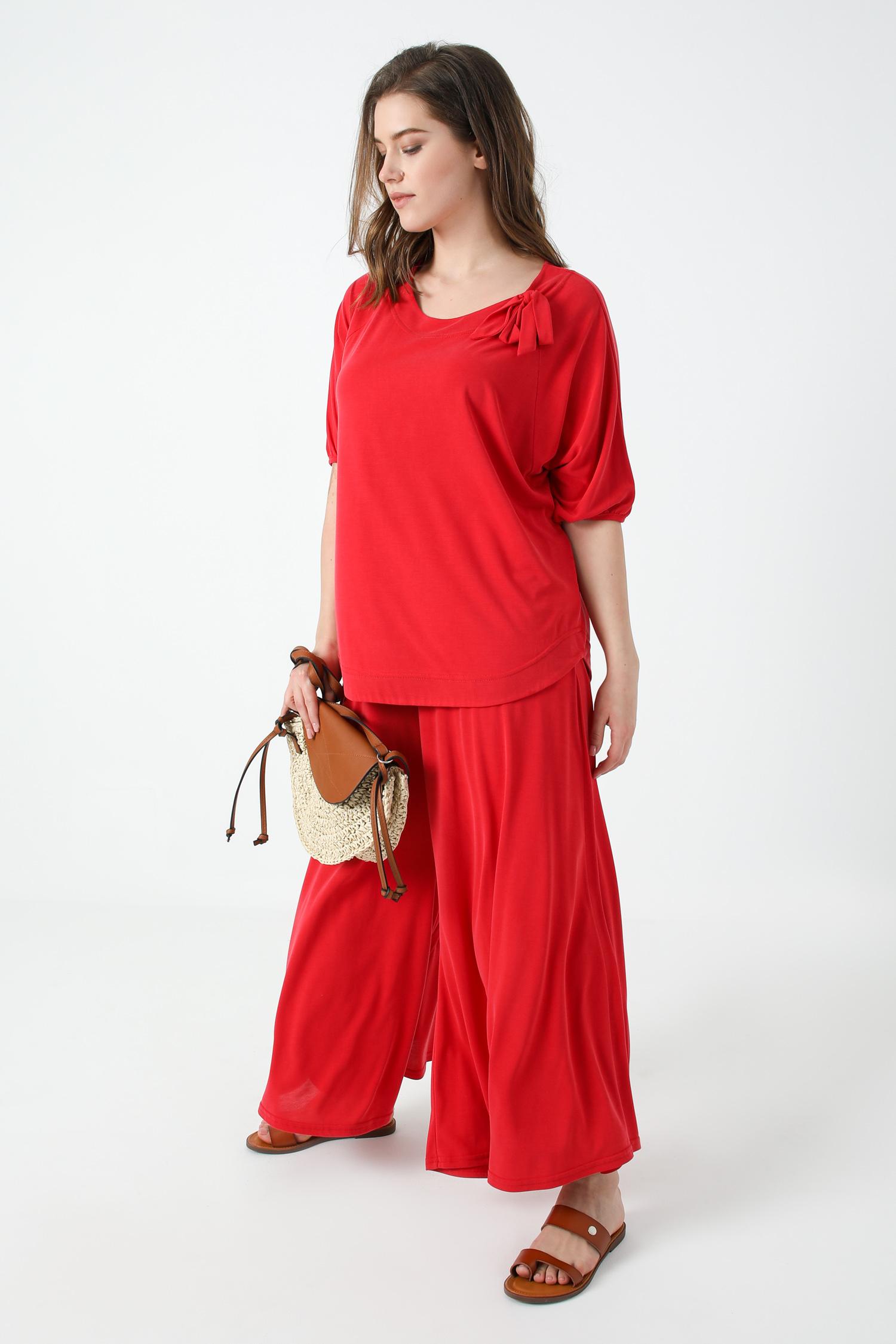 Plain modal t-shirt
