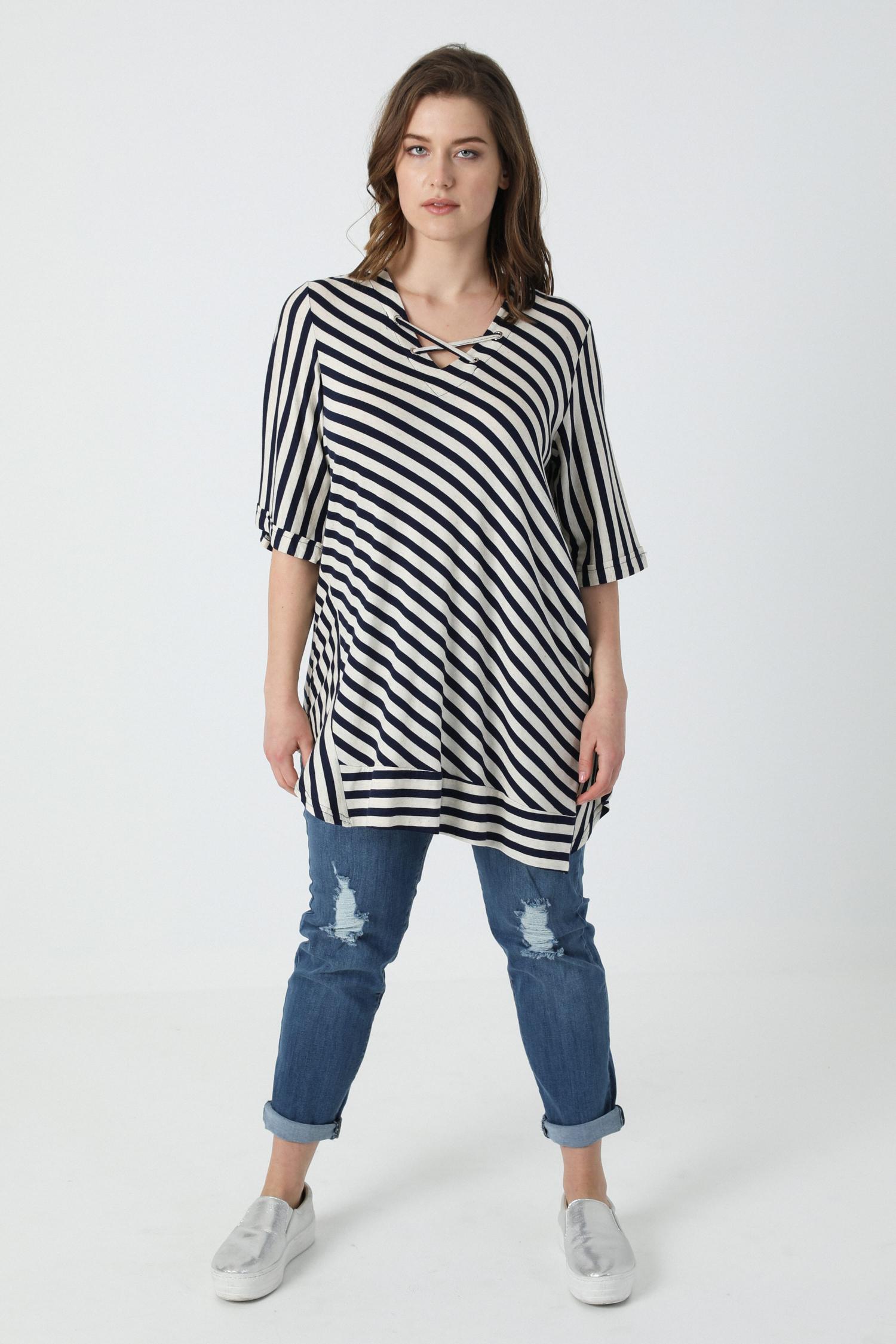 striped t-shirt