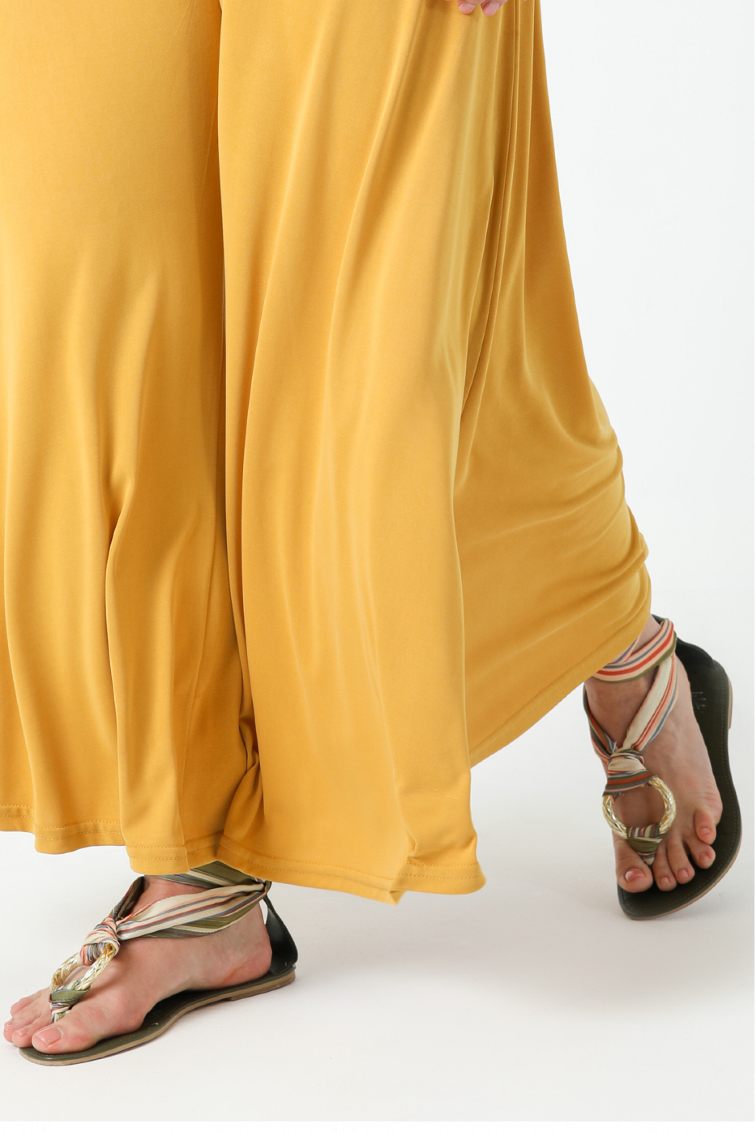 Modal culotte-style pants (delivery February 15/20)
