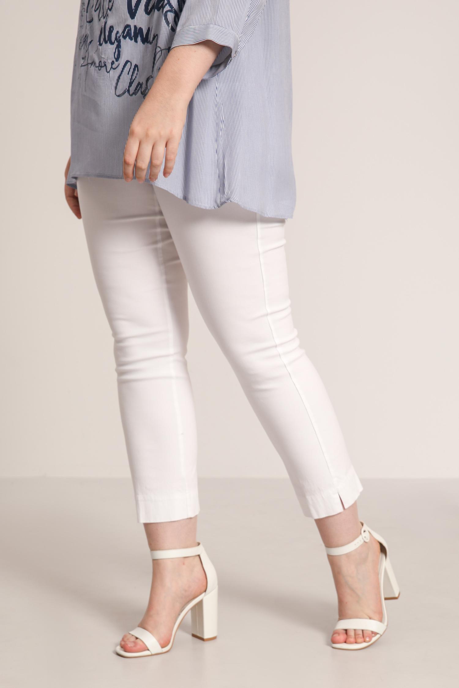 Straight shaping pants