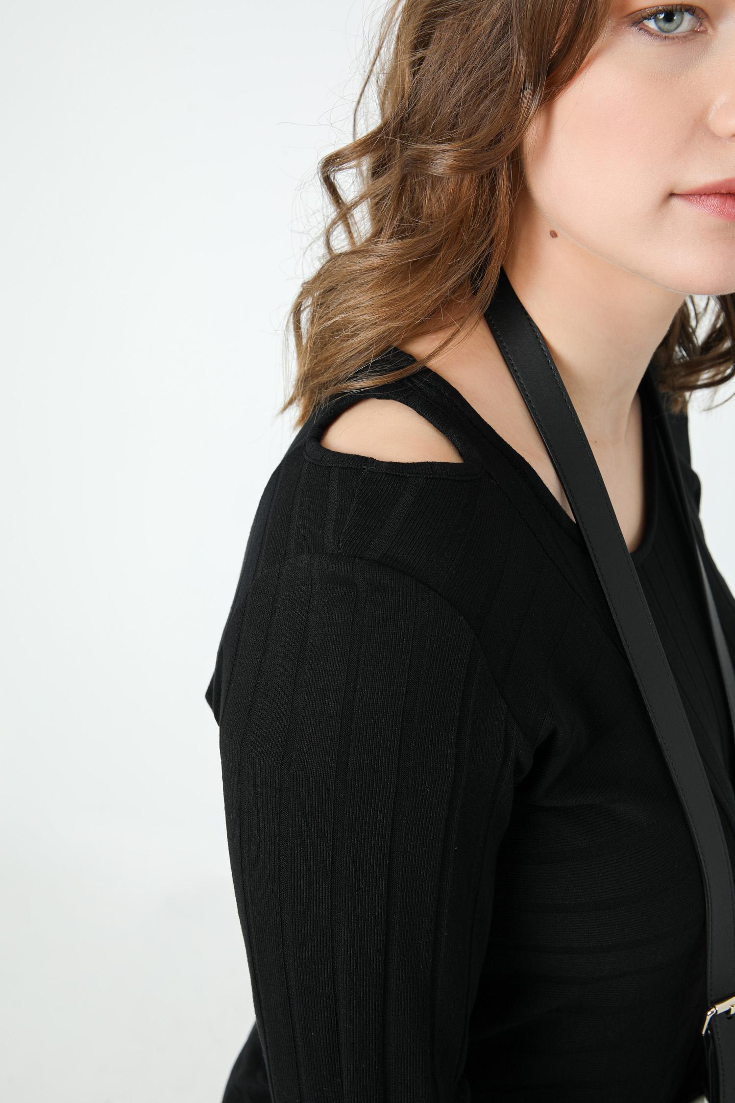 Plain rib tshirt