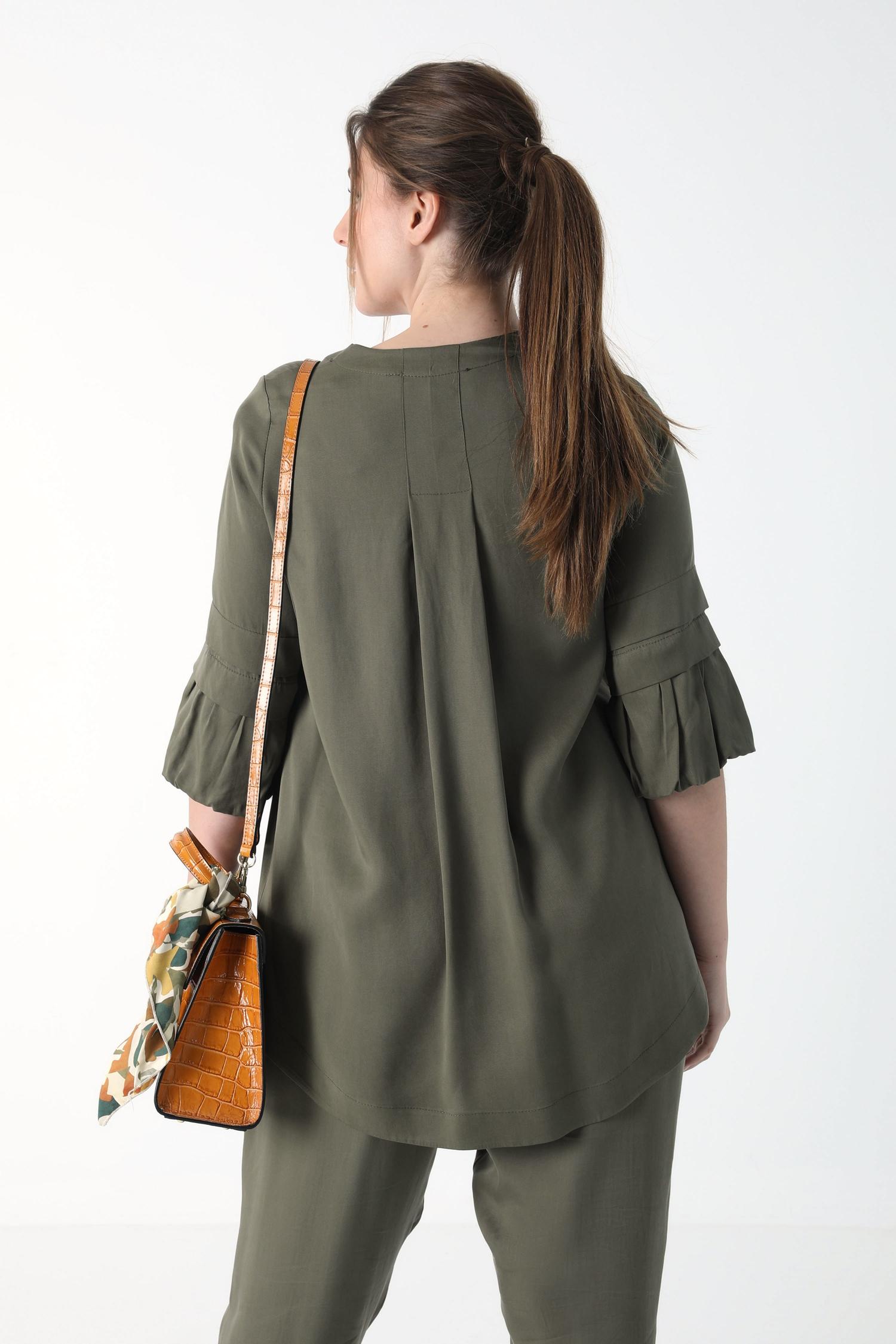 Plain tencel shirt