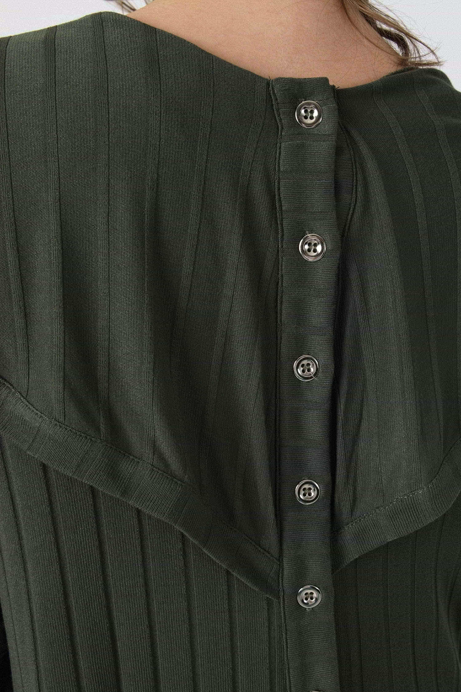 Ribbed waistcoat with waterfall collar (February 15/20 expedition)