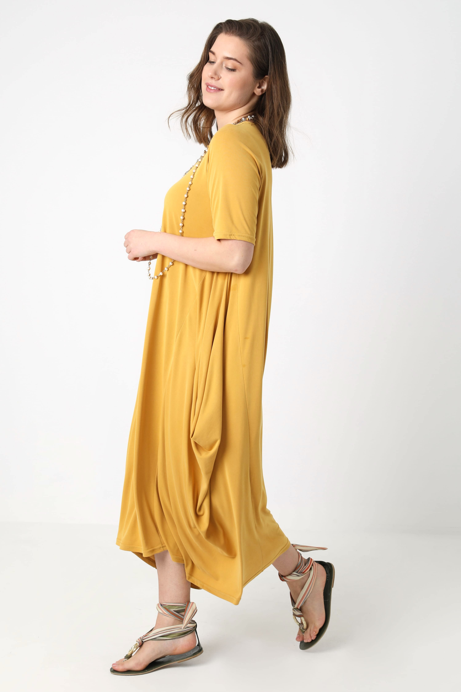 Long oversized dress