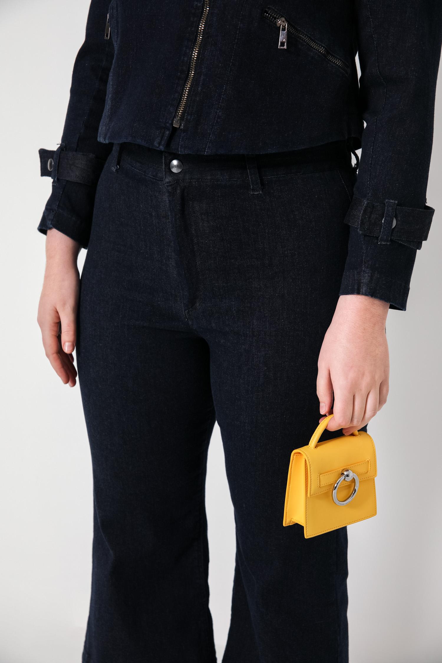 Raw jeans pants