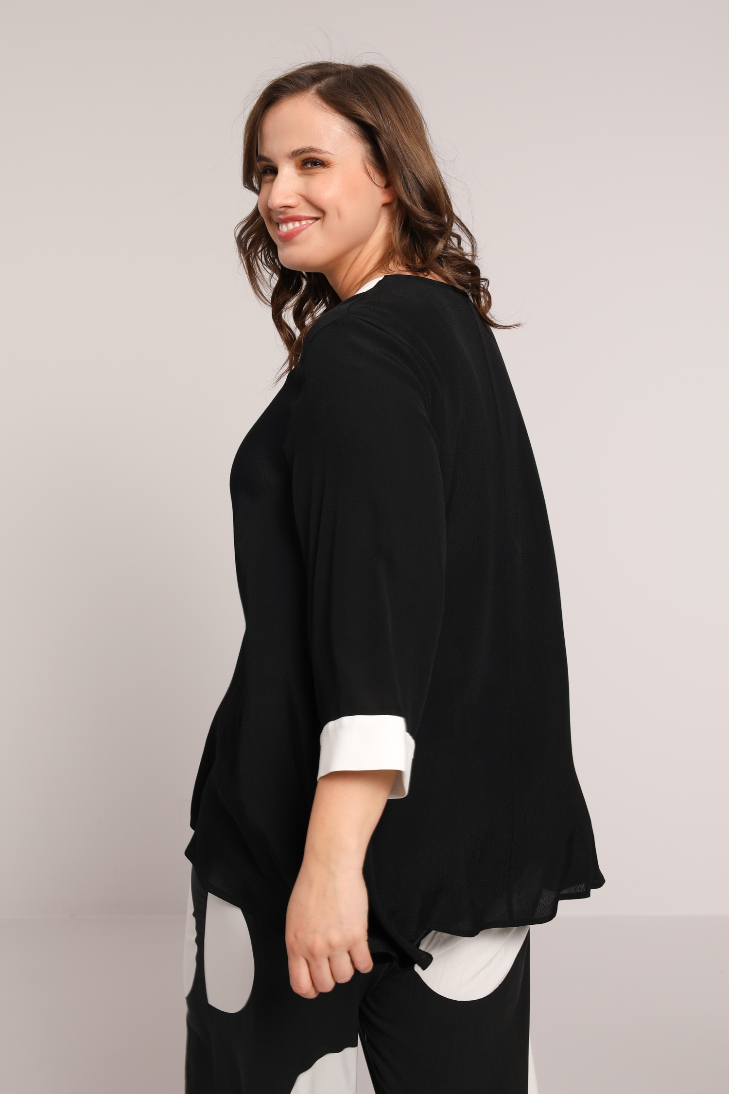 Short flared tunic