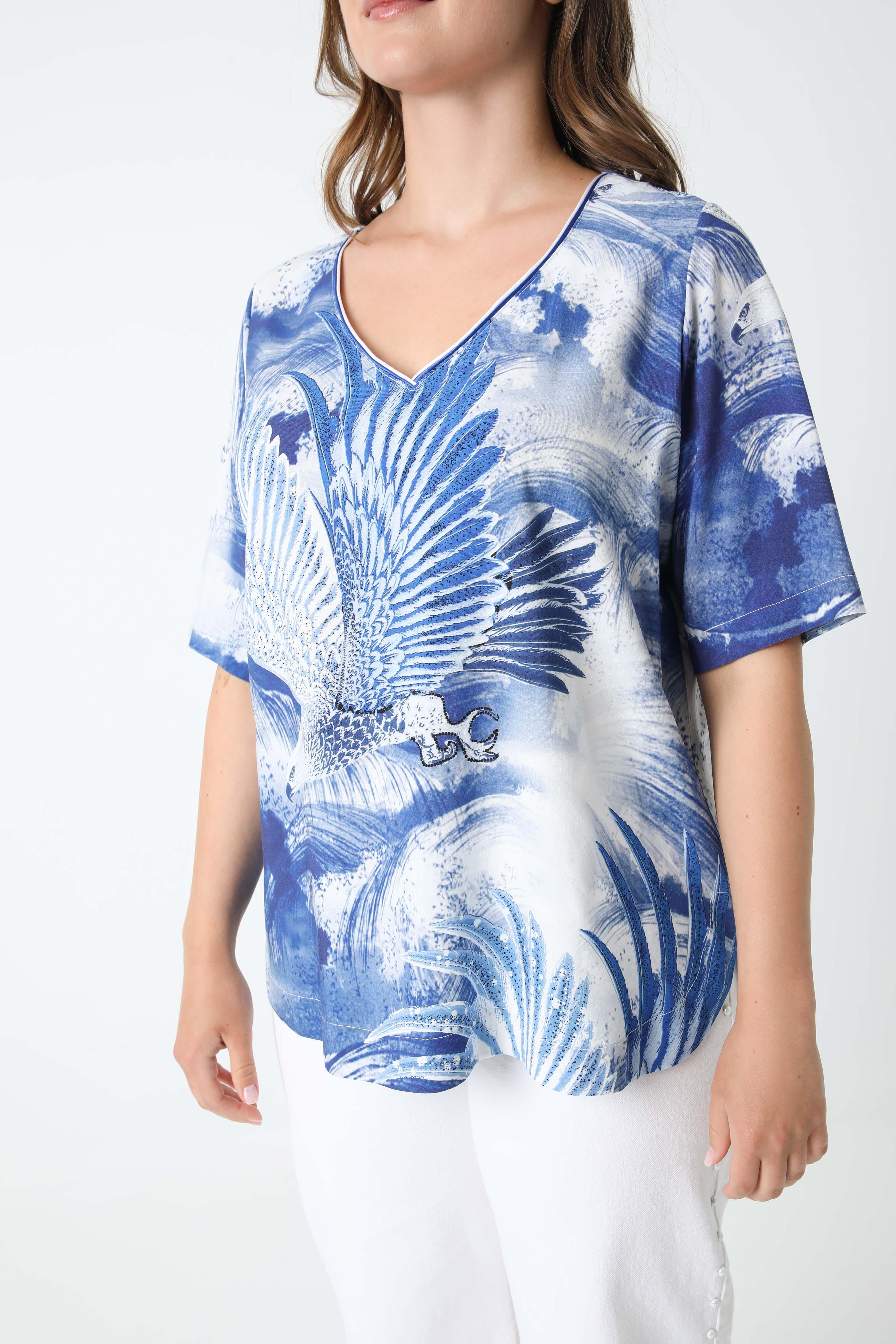 T-shirt printed with oeko-tex fabrics (Shipping June 30 / July 5)