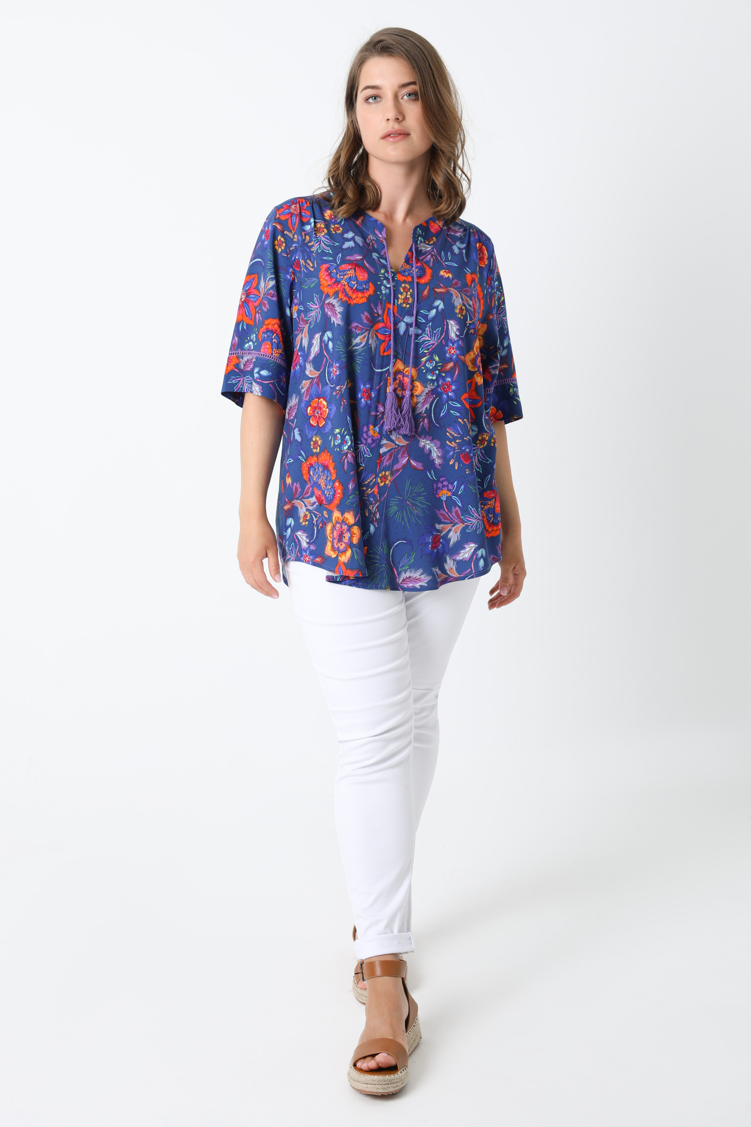 Printed blouse with oeko-tex fabrics (expedition 20/25 June)