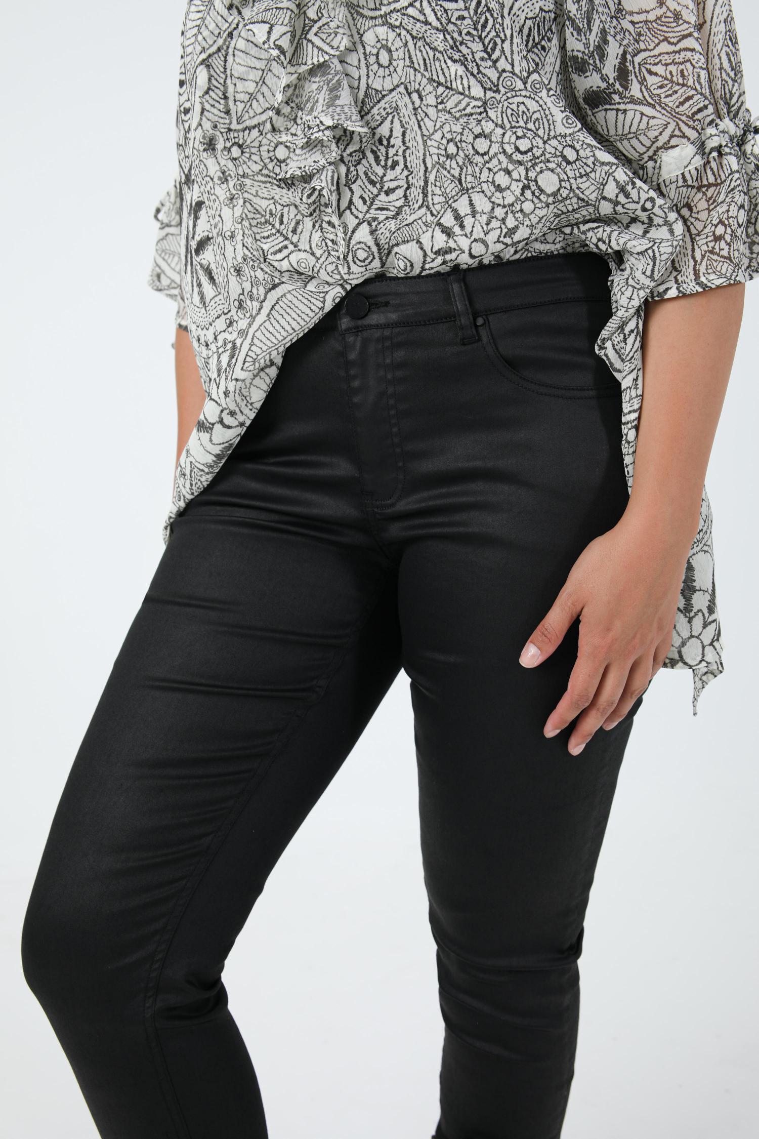 5-pocket oiled pants (Shipping September 25/30)