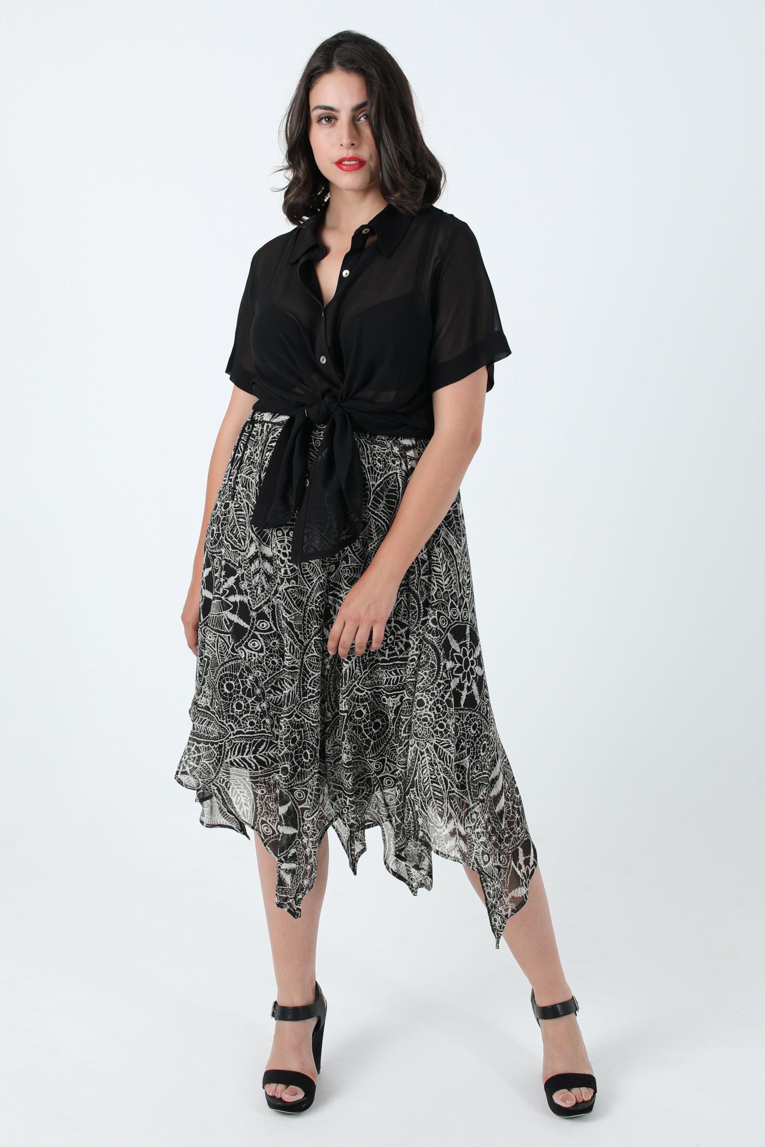 Printed veil skirt with oeko-tex fabric keel (Shipping July 20/25)
