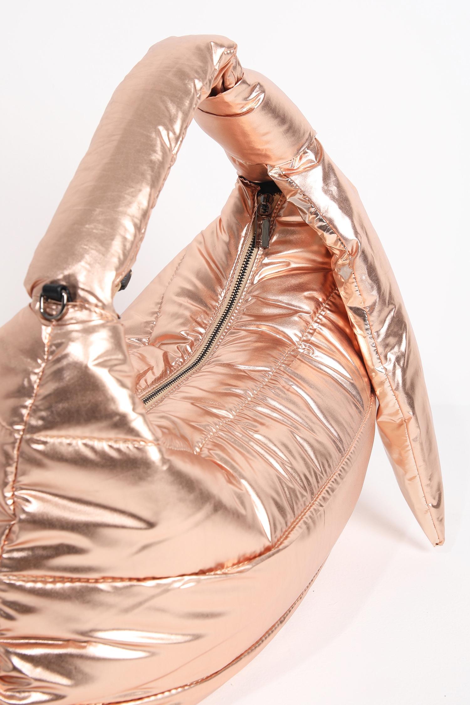 Metallic effect bag