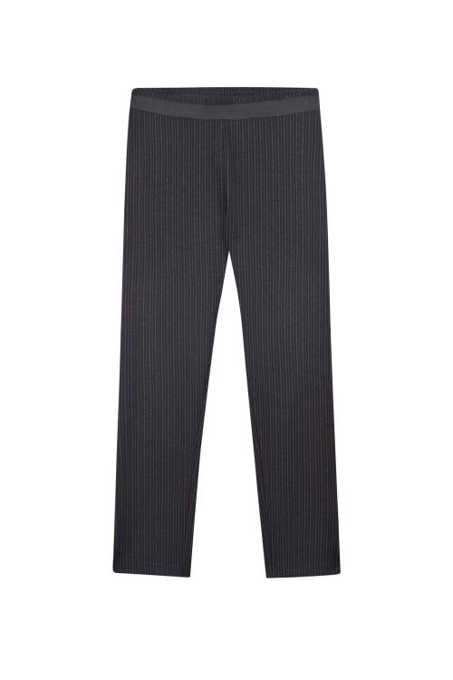 Pantalon Noir raye