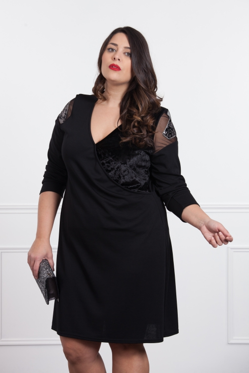 Robe Noir/argent
