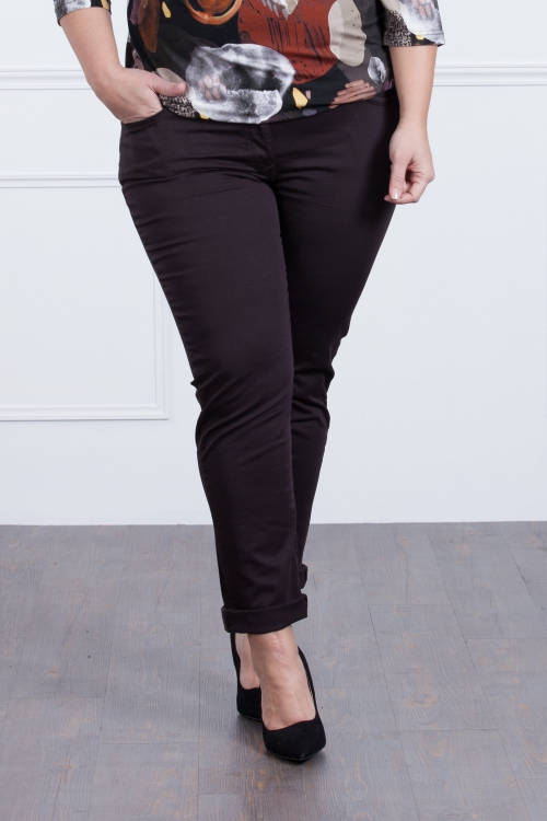 jeans - marron